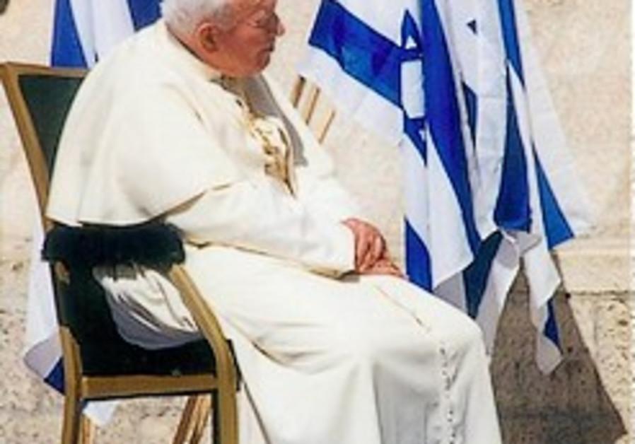 Pilgrims, Israelis, Palestinians join John Paul II '10 games