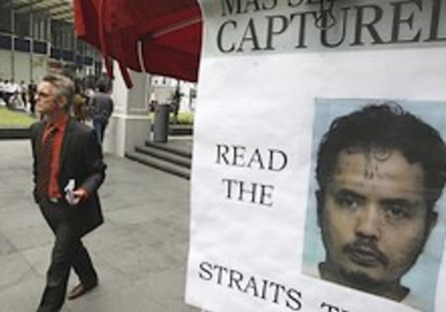 Top Islamic terror suspect who fled Singapore nabbed in Malaysia