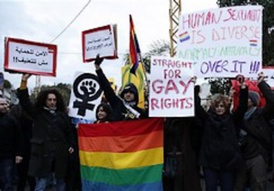 Lebanese gays take fight for their rights public
