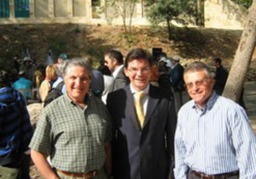 """""""A memorial built of good deeds"""": KKL-JNF honors William Cooper"""