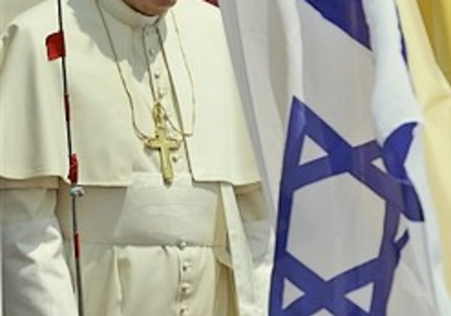 Videos of Pope Benedict's Hold Land pilgrimage
