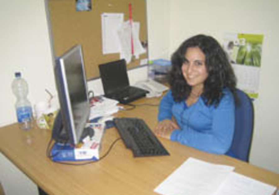 Working in Jerusalem: She's got all the answers