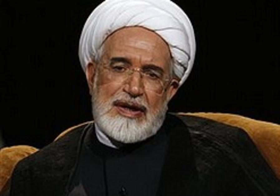'Iran opposition leader under house arrest'