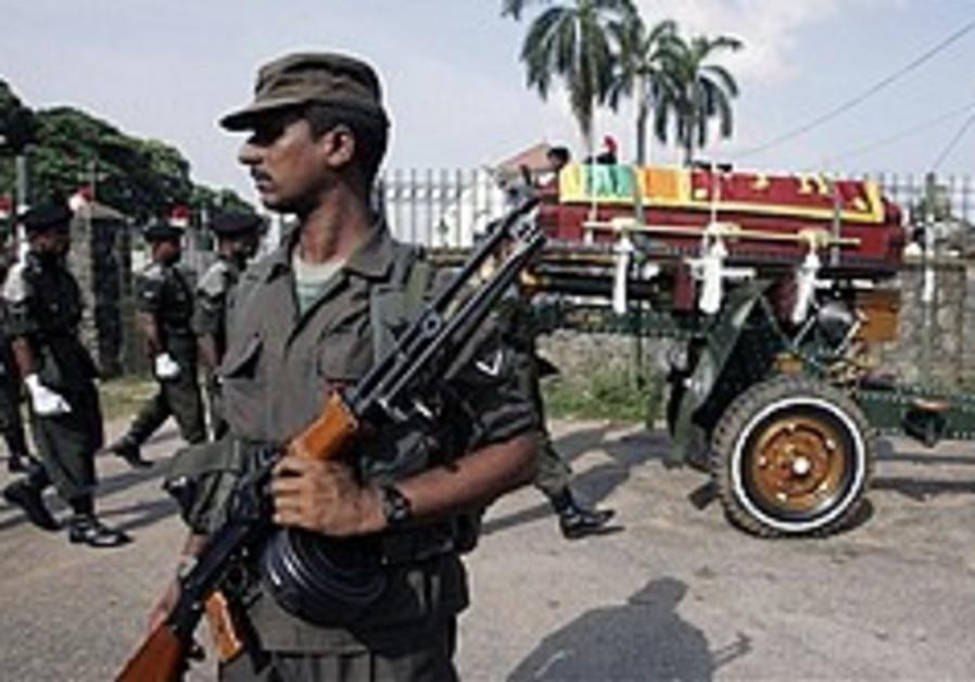 Sri Lanka president declares victory in civil war