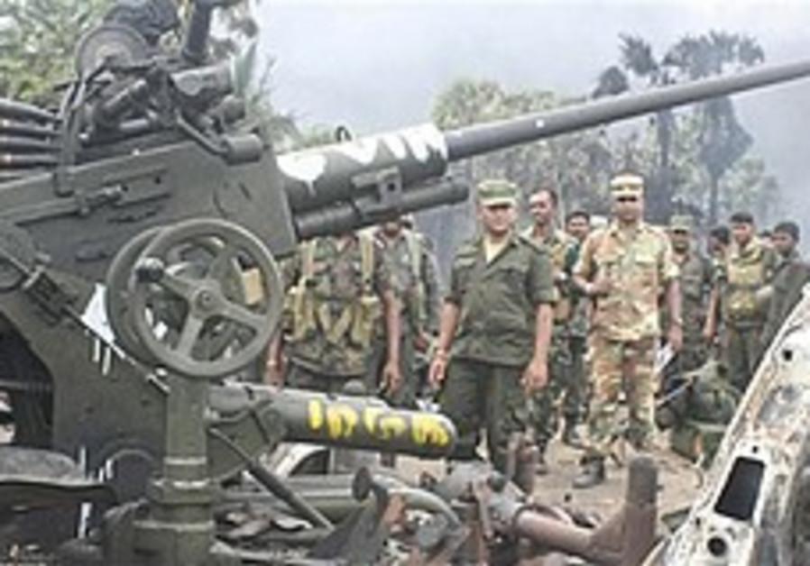 Sri Lankan army: 4 prominent rebel leaders killed