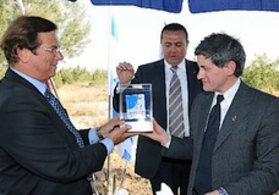 Mayor of Rome dedicates forest commemorating Italian Righteous Gentiles