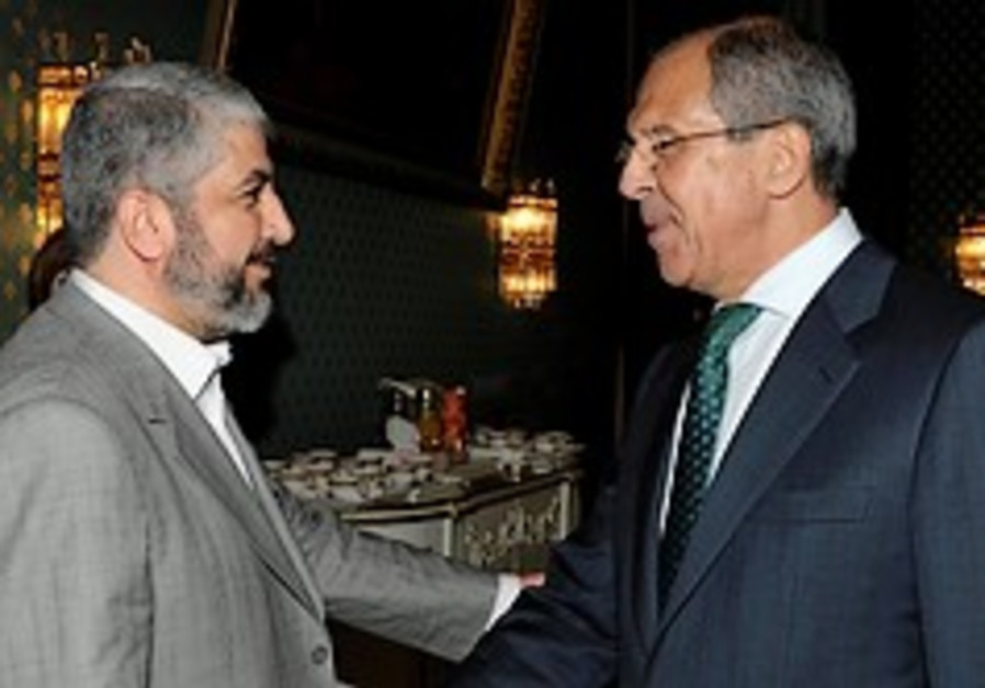 Russia: Hamas on more 'realistic' path