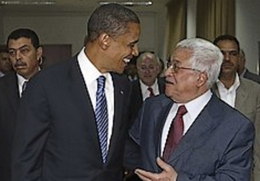 Abbas to press Obama on settlements