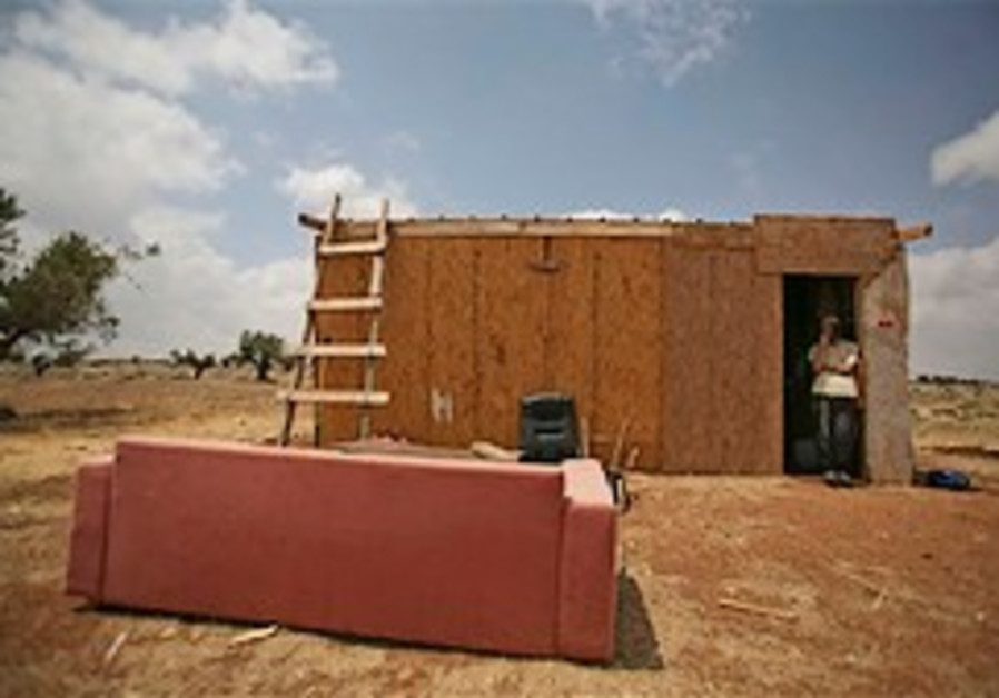 Outposts will probably be removed in late October, say defense officials