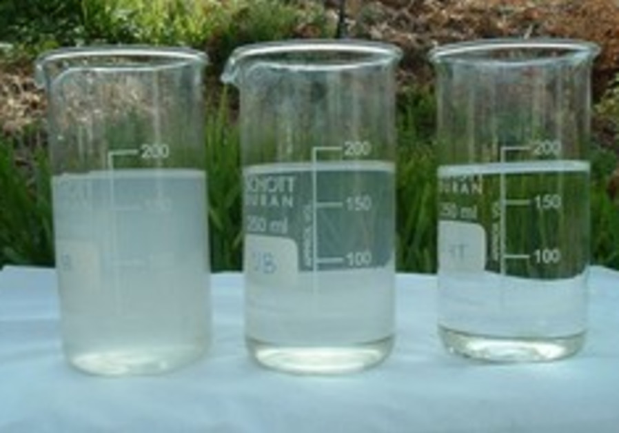 Grey water recycling pilot project under way