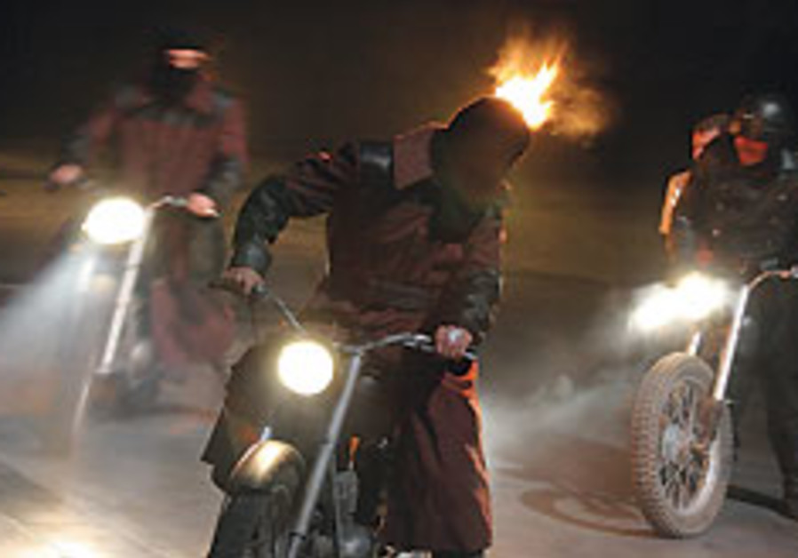 'Macbeth' to arrive on motorcycles