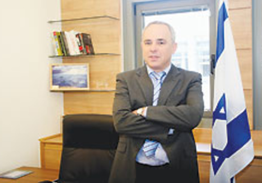 Yuval Steinitz arms crossed