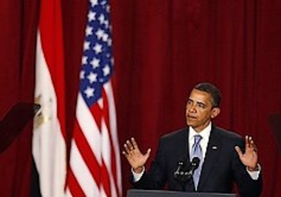 Full text of Obama's Cairo address