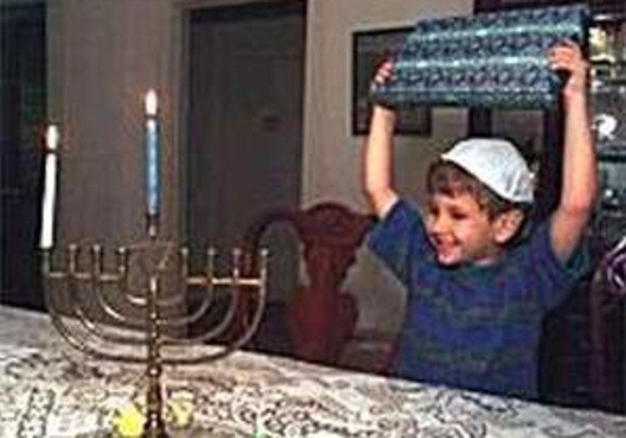298 kid lights menorah 88 just menorah