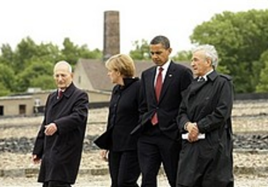 Obama: I will never forget Buchenwald