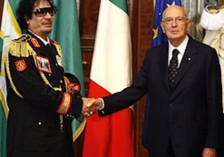 Gaddafi invites expat Libyan Jews to return