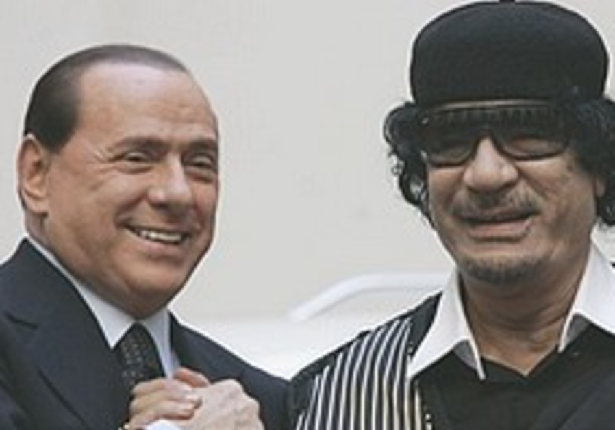 Gaddafi invites Jewish leaders on Shabbat