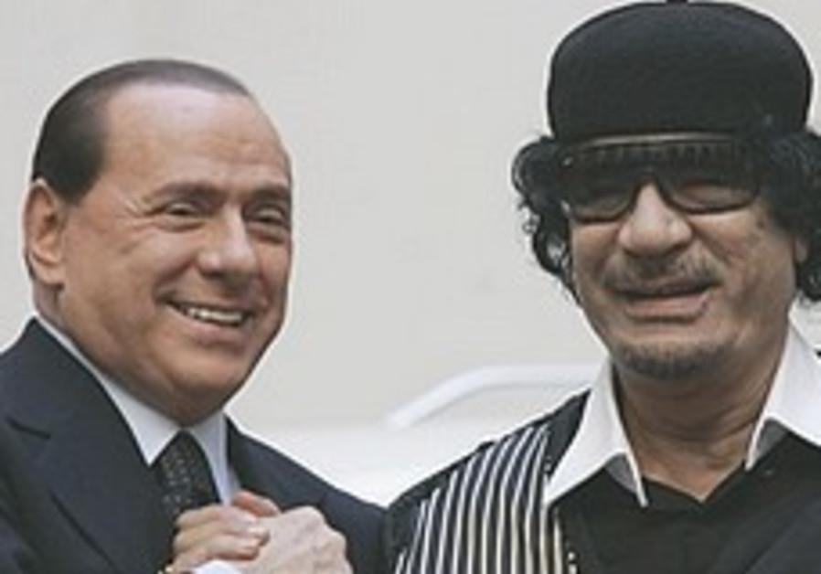 Gaddafi invites Jewish leaders on Shabbat