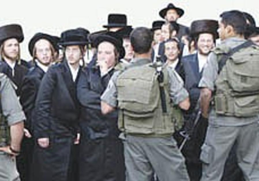 Jerusalem haredim scale back Shabbat violence