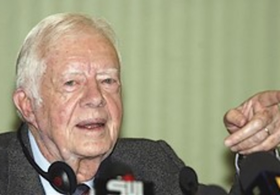 Carter: No Mideast peace without Hamas