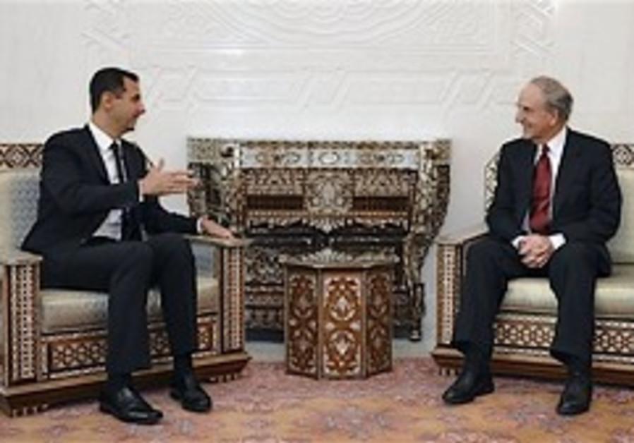 Assad: No Israeli partner for peace