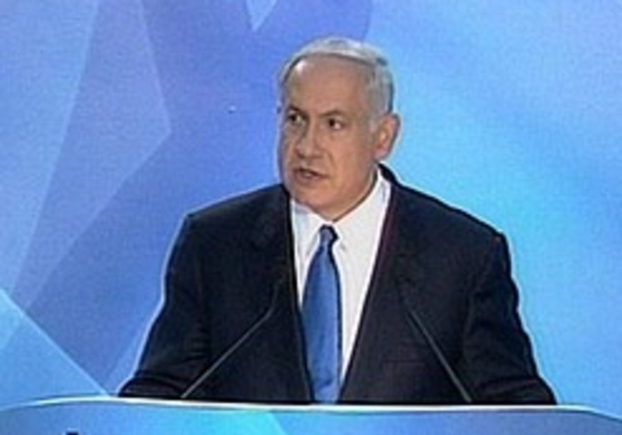 Netanyahu wants demilitarized PA state