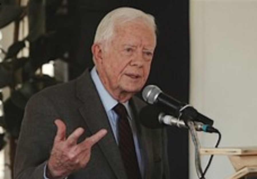Carter: PM created obstacles to peace