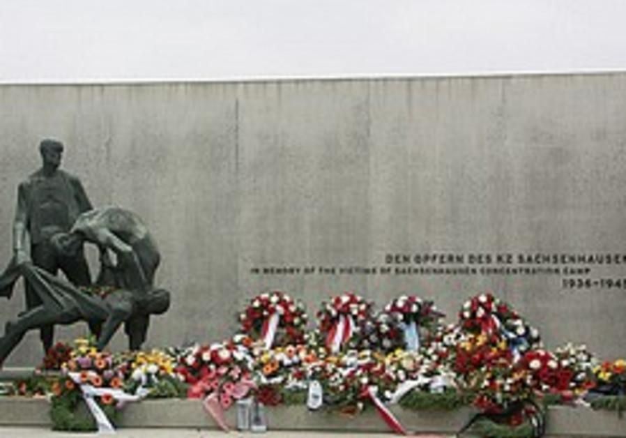 Nazi massacre site turned into Jewish cemetery