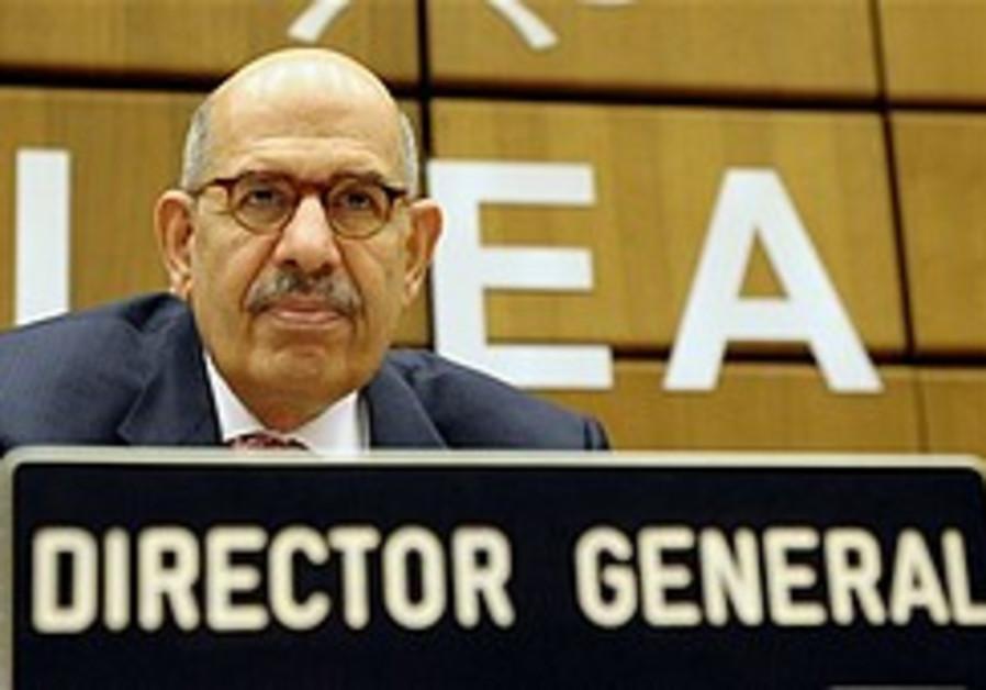 Israel says ElBaradei biased on Syria