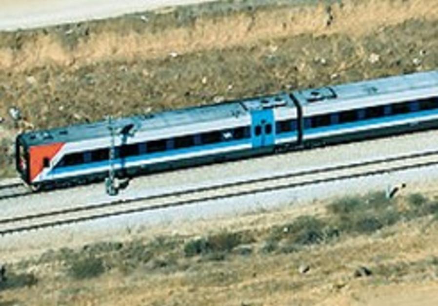Jerusalem-TA express train only in 2016