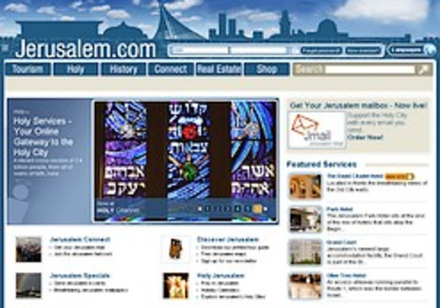 Jerusalem.com of gold: $750,000 Web site offers virtual view of holy city