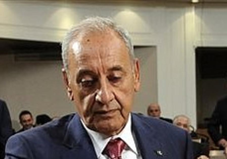 Lebanese parliament re-elects pro-Hizbullah speaker