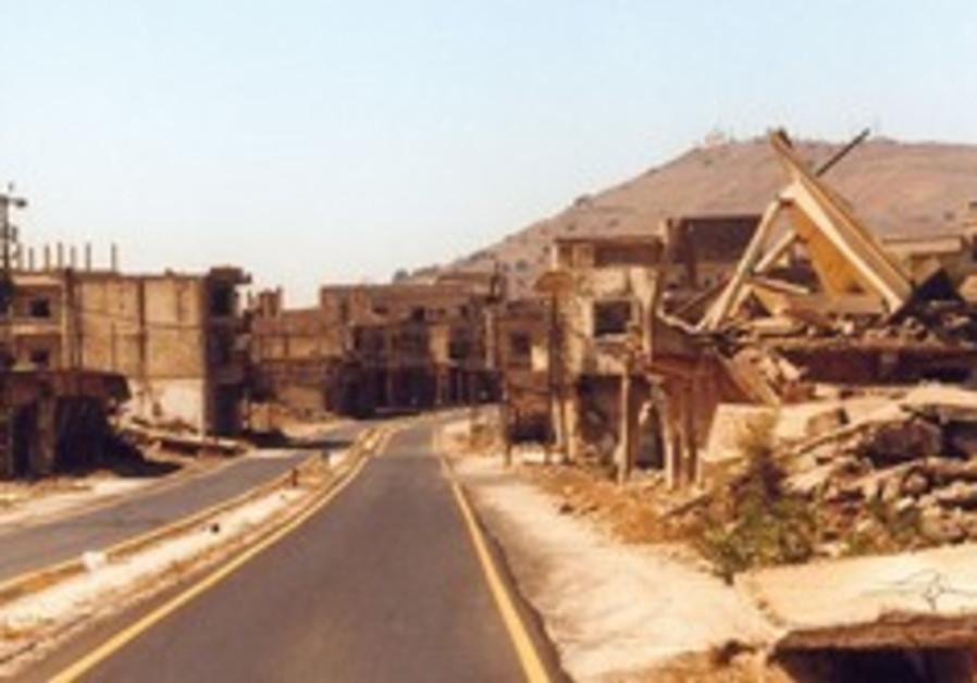 Syria again threatens war over Golan