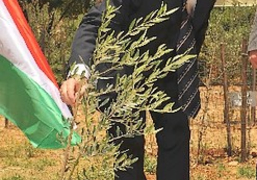Hungarian prime minister plants tree in Jerusalem's Nations Grove