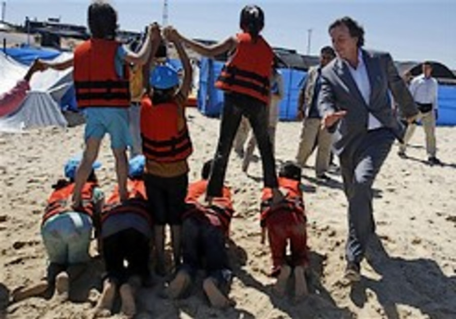 Islamists torch summer camp in Gaza