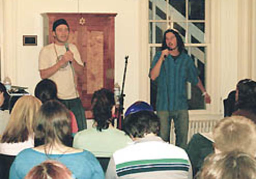 Hip-Hop Shabbat brings youth back to religion