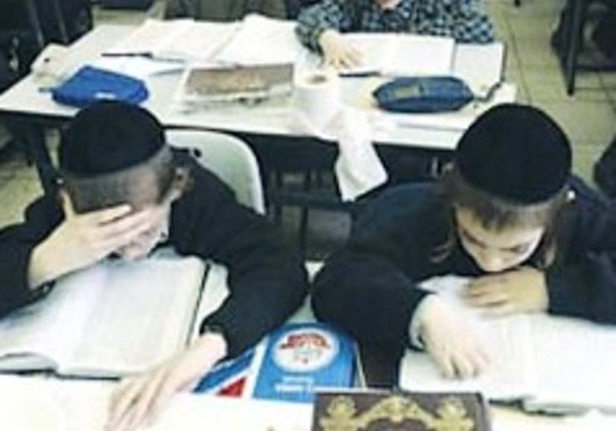 More than 30% of haredi teens - 'hidden dropouts'