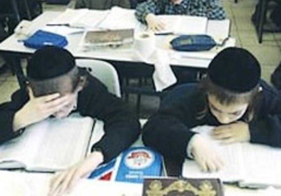 More than 30% of haredi teens - 'hidden dropouts'