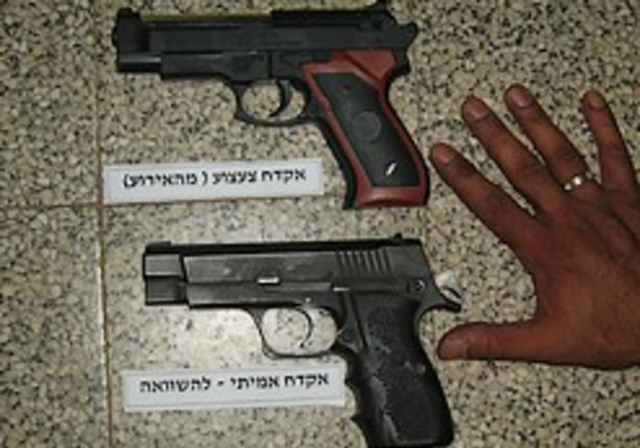 Palestinian woman wielding toy gun wounded by IDF fire