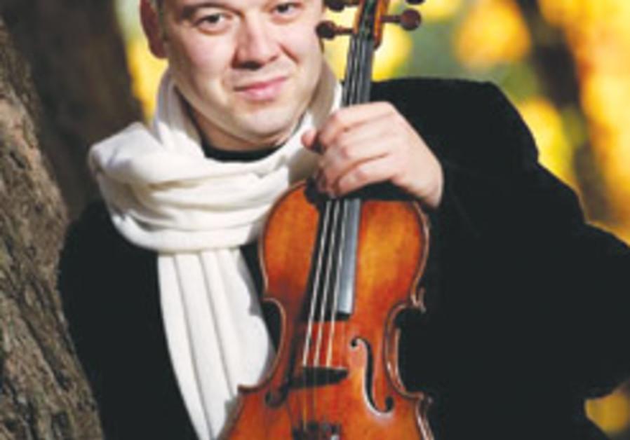 His violin's in good hands