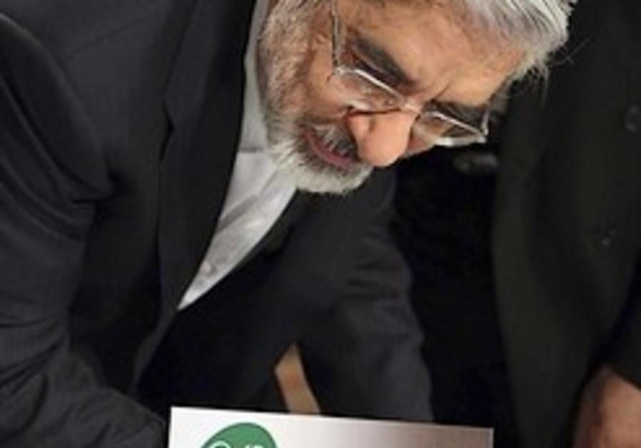 Mousavi: Anti-gov't campaign will go on