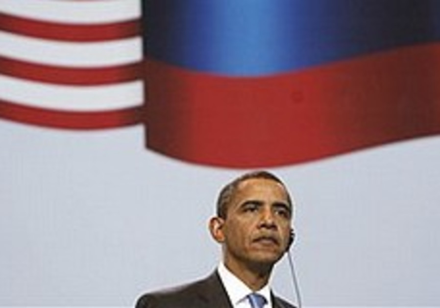 Obama asks Russians to forge partnership with US