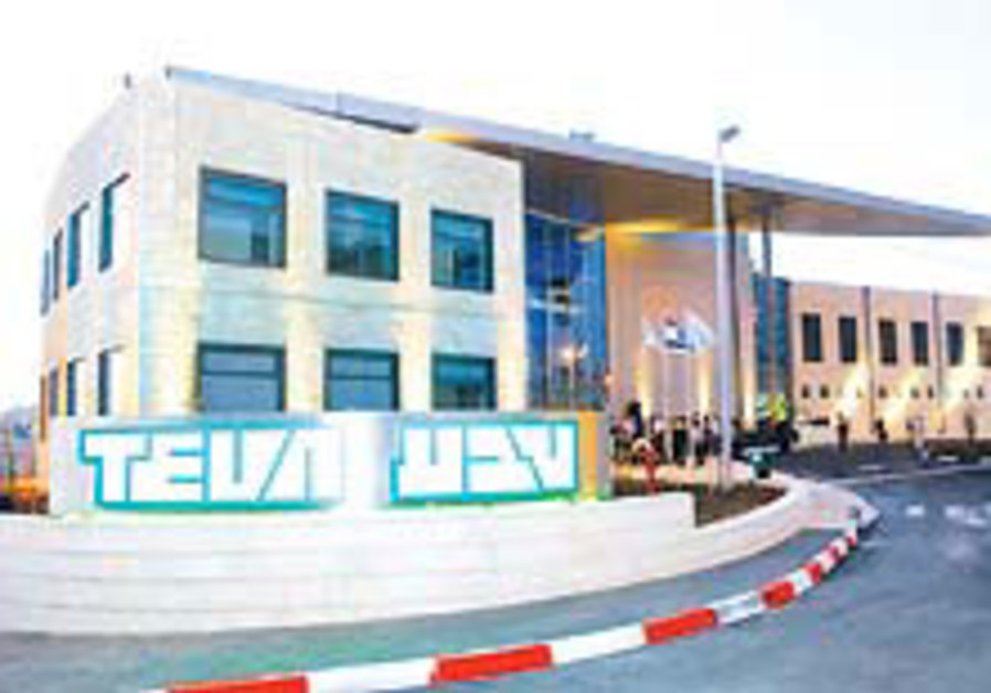 Teva Pharmaceutical profits beat forecasts