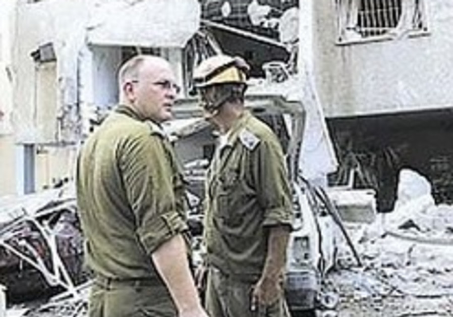 IDF training civilian response teams