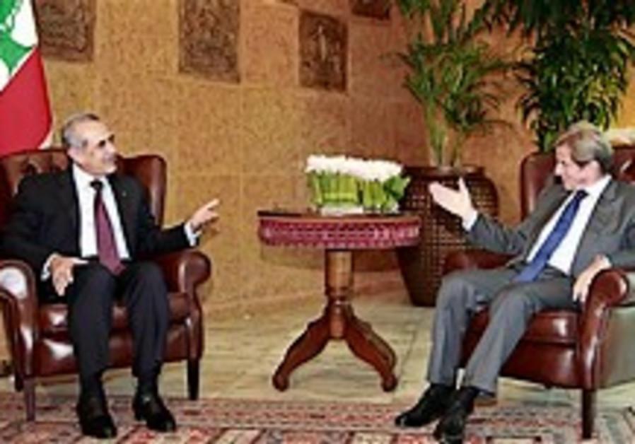 French FM meets Hizbullah legislator