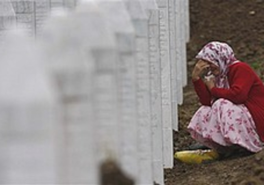 Mass funeral for Srebrenica massacre victims