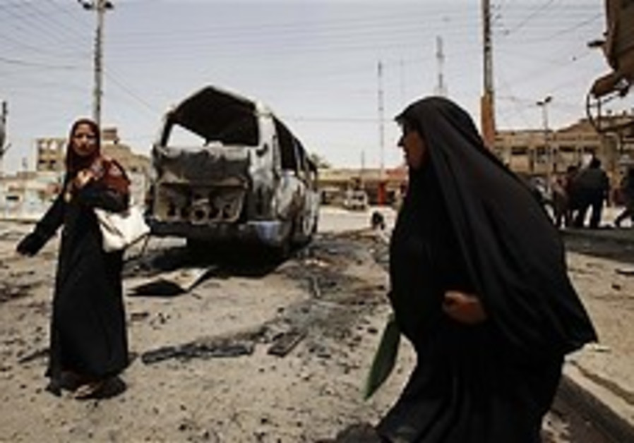 Car bomb kills at least 4 in northern Iraq