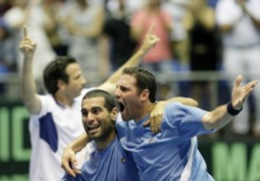 Tennis: Israel to face Spain in Davis Cup semis
