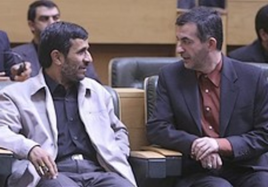 Ahmadinejad's VP choice rejected