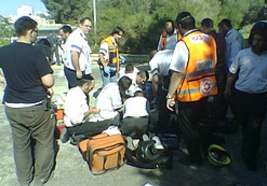 J'lem: Girl dies falling into gas-filled manhole